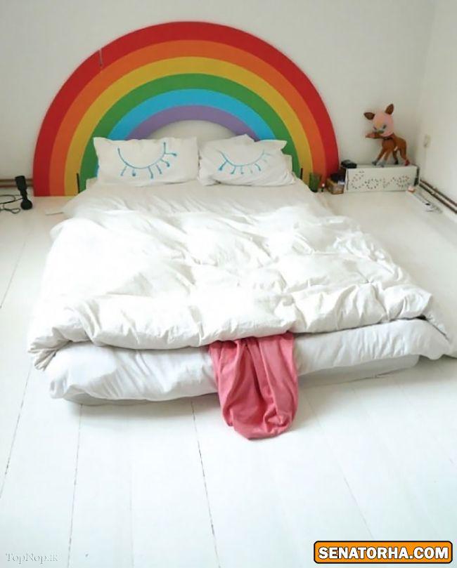 جالبترین طرح ها برای رو تختی