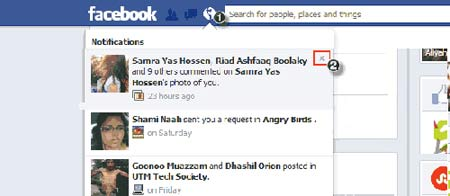 146 غیر فعال سازی اطلاع رسانی های ناخواسته در فیس بوک