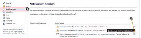 148 غیر فعال سازی اطلاع رسانی های ناخواسته در فیس بوک