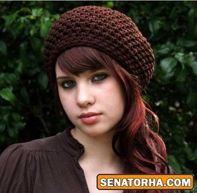مدل شال و کلاه دخترانه 2013