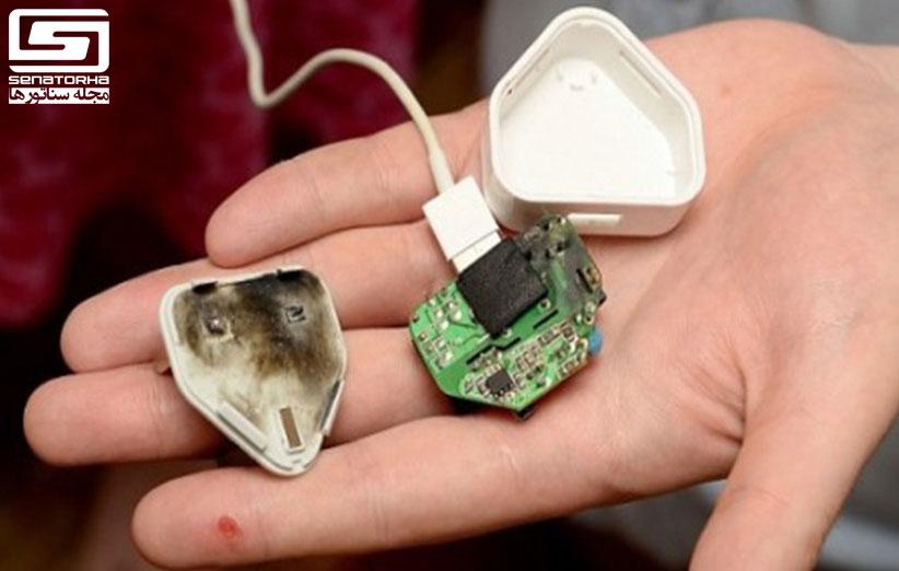 شارژر تقلبی  99 درصد شارژرهای غیر اصل یا تقلبی، خطرناک هستند charger fake