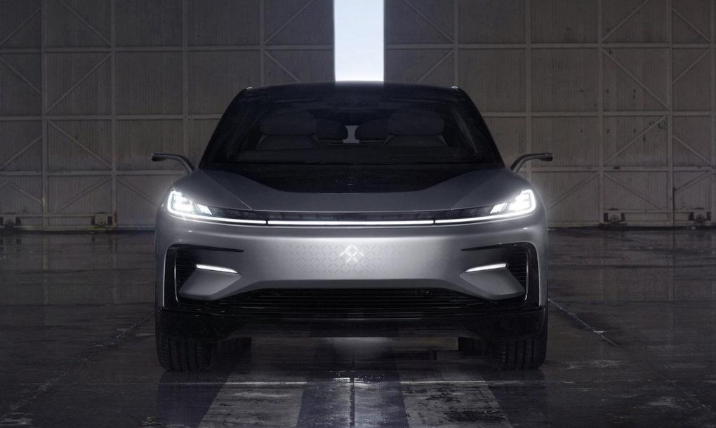 معرفی سریعترین خودروی الکتریکی دنیا Faraday Future FF91 Faraday Future FF91 2