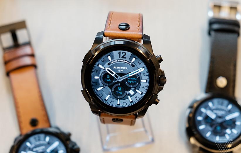ساعت هوشمند دیزل با Android Wear عرضه شد Diesel Smartwatch 1