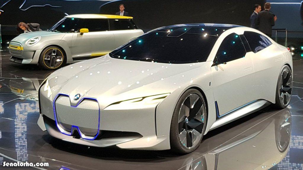کانسپتی جدید از BMW bmw vision i dynamics