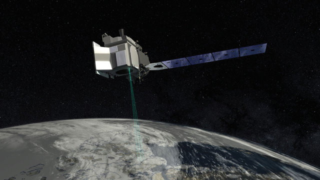 فرستادن لیزر به فضا برای نظارت بر ذوب شدن یخهای زمین 9706 55t399